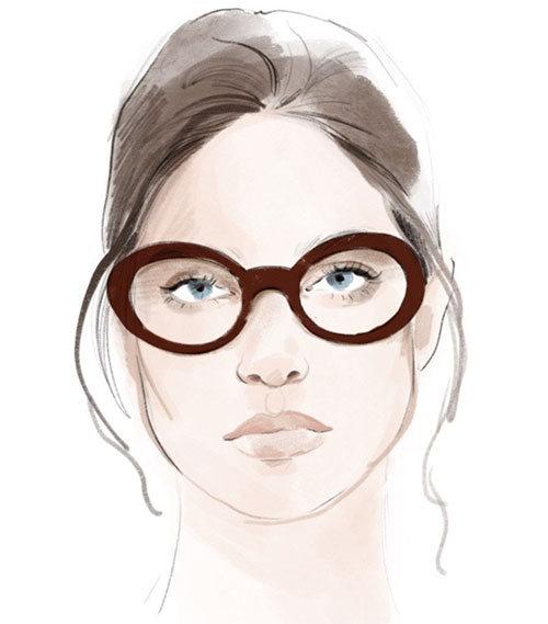 Briller til ovalt ansikt