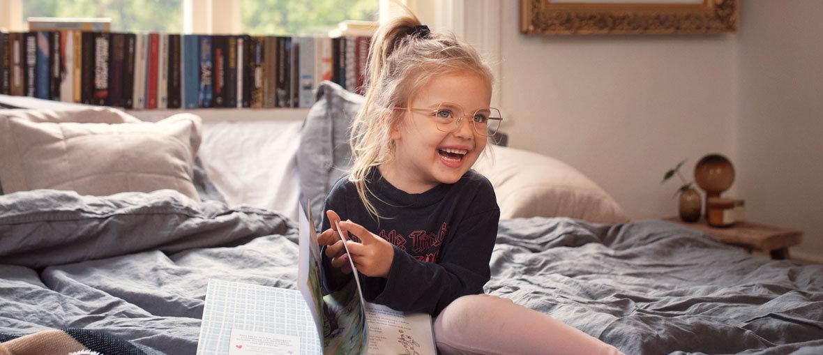 Glasögonbågar för barn