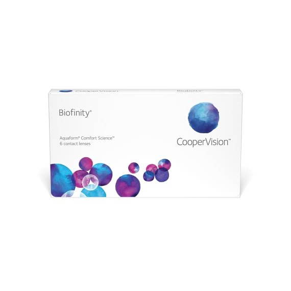 Biofinity 6 linser