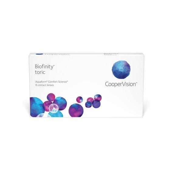 Biofinity Toric 6 linser