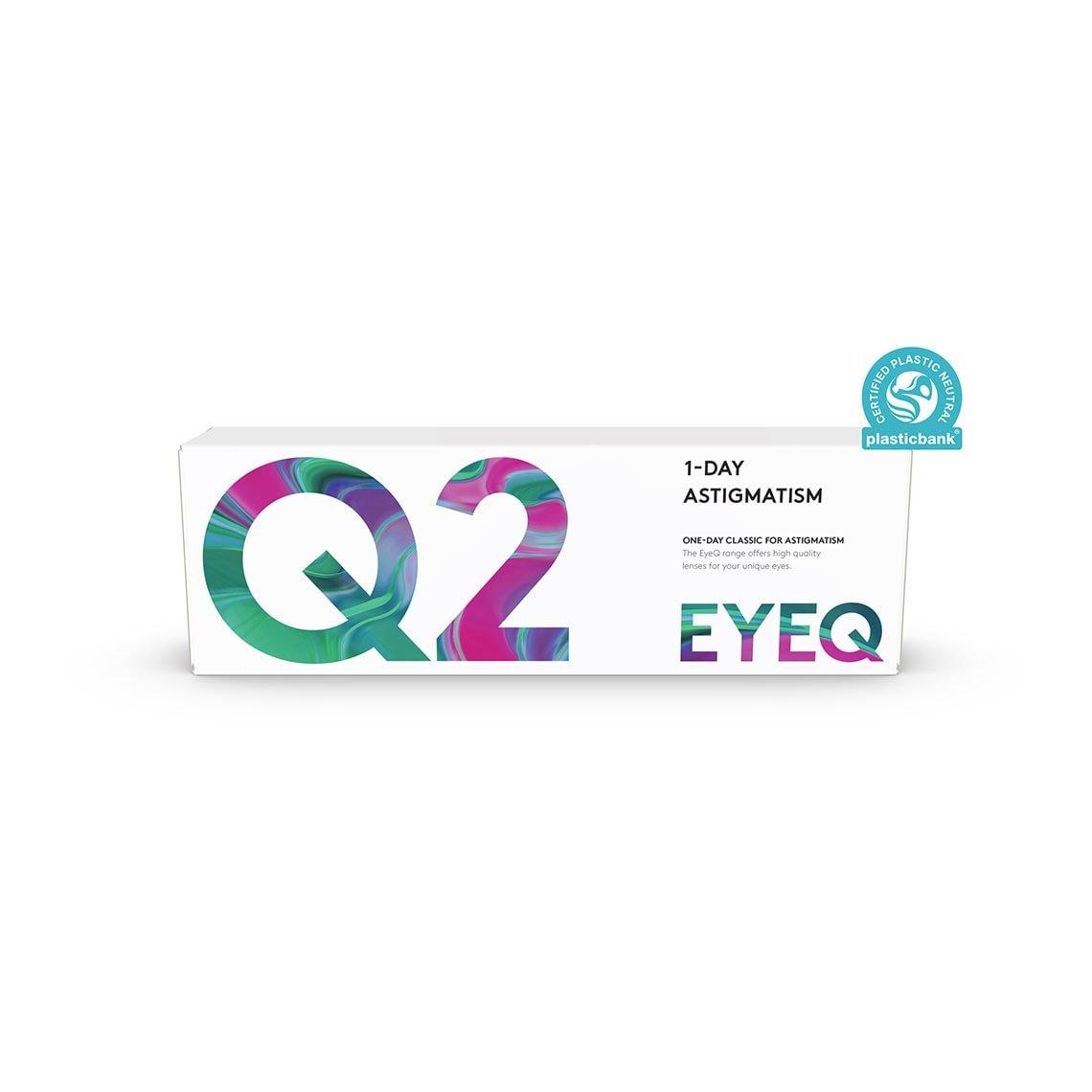 EyeQ One-Day Classic For Astigmatism Q2 30 st/box