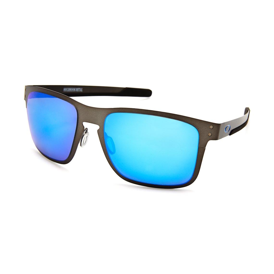 24e4519ee3a3 Oakley Holbrook Metal Prizm Sapphire Polarized OO4123-0755 - Profil ...