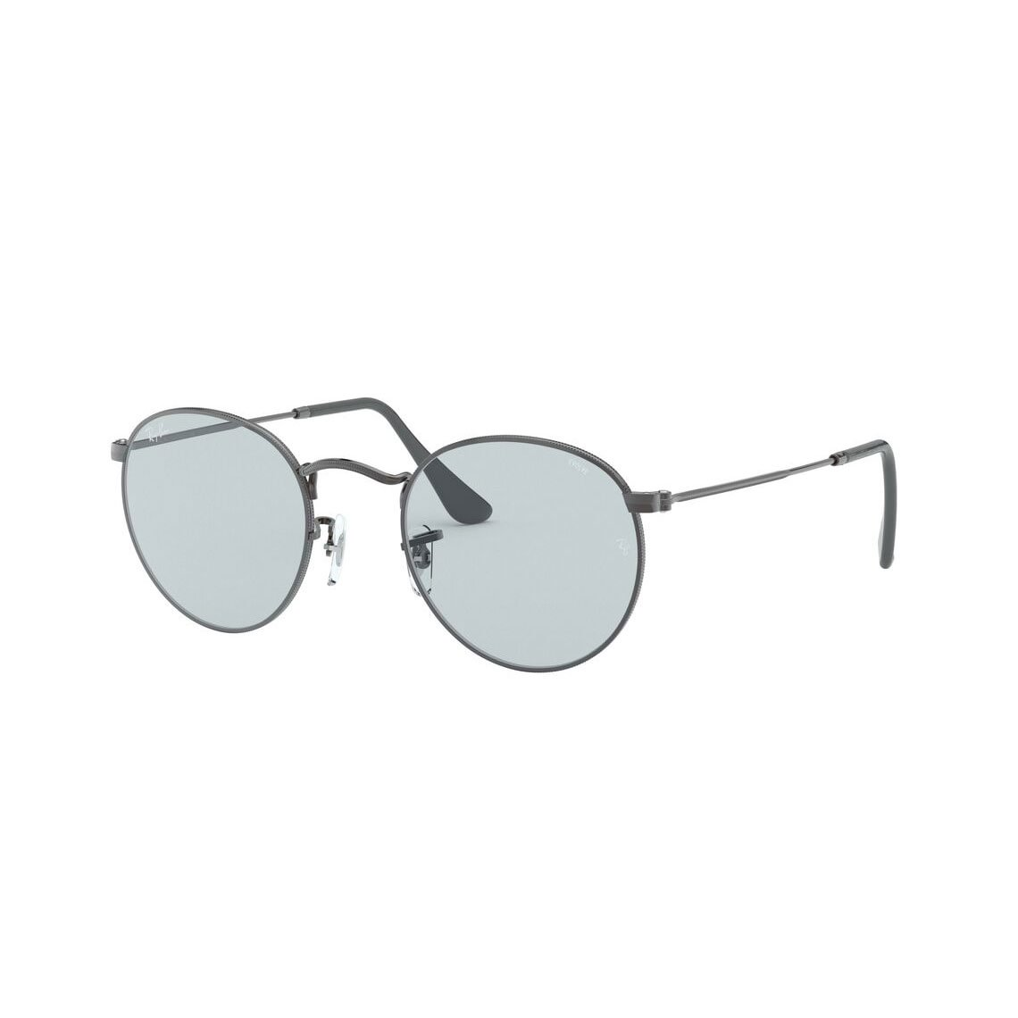 Ray-Ban Round metal RB3447 Solid Evolve 004/T3 5321