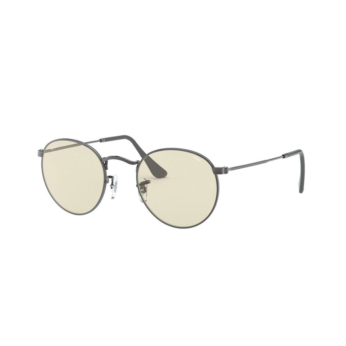 Ray-Ban Round metal RB3447 Solid Evolve 004/T2 5021