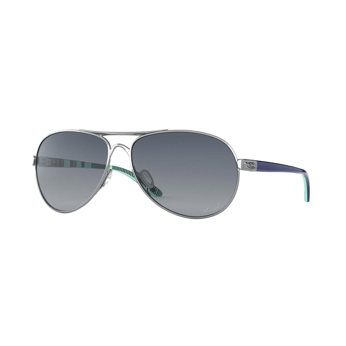 Oakley Feedback Grey Gradient Polarized OO4079-07
