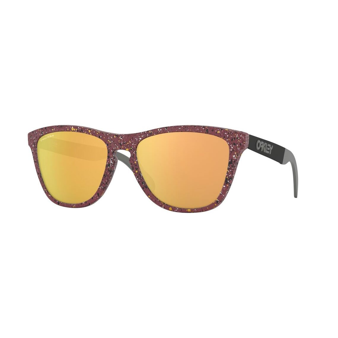 Oakley Frogskins Mix Metallic Splatter Collection Prizm Rose Gold OO9428-1055