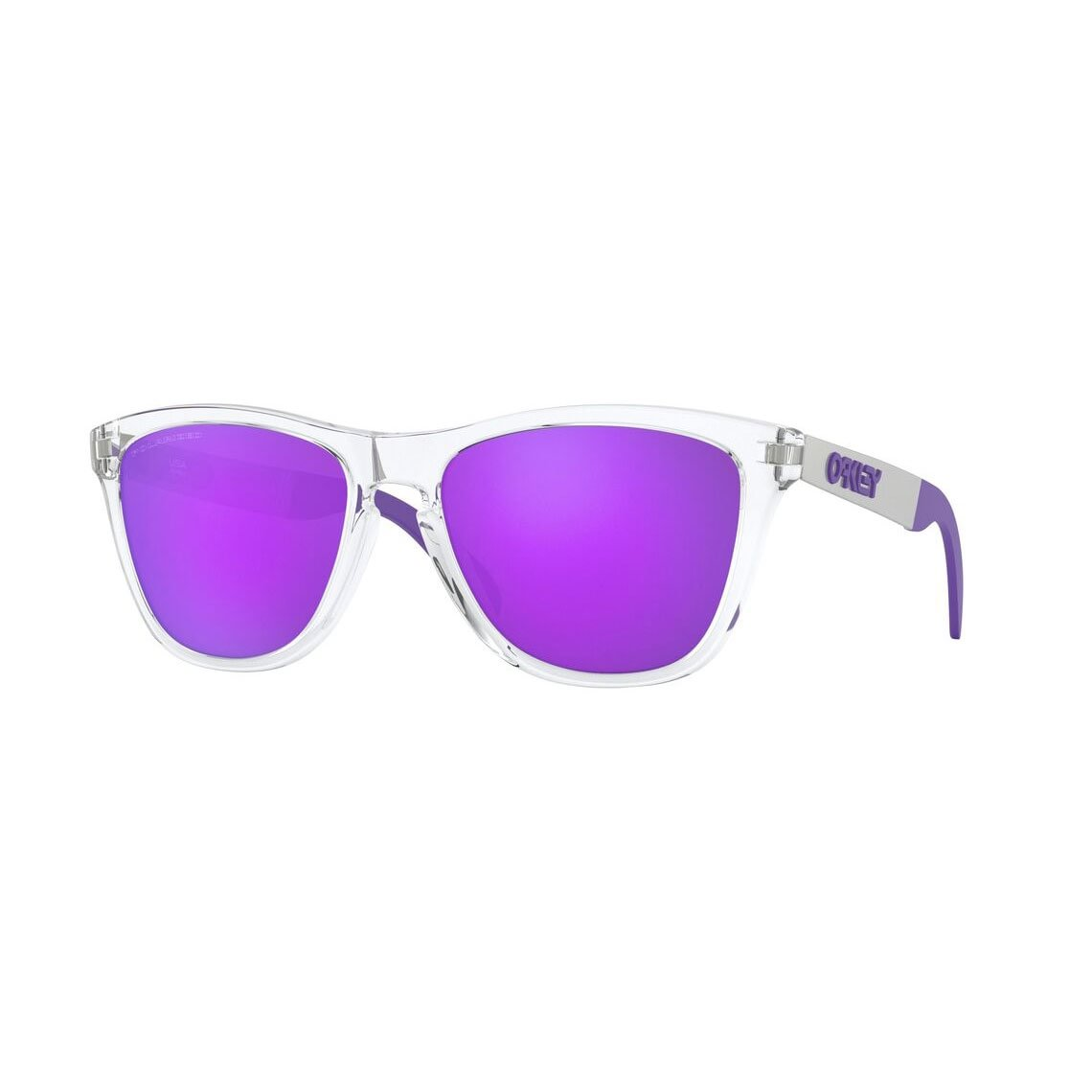 Oakley Frogskins Mix Violet Iridium Polarized OO9428-0655