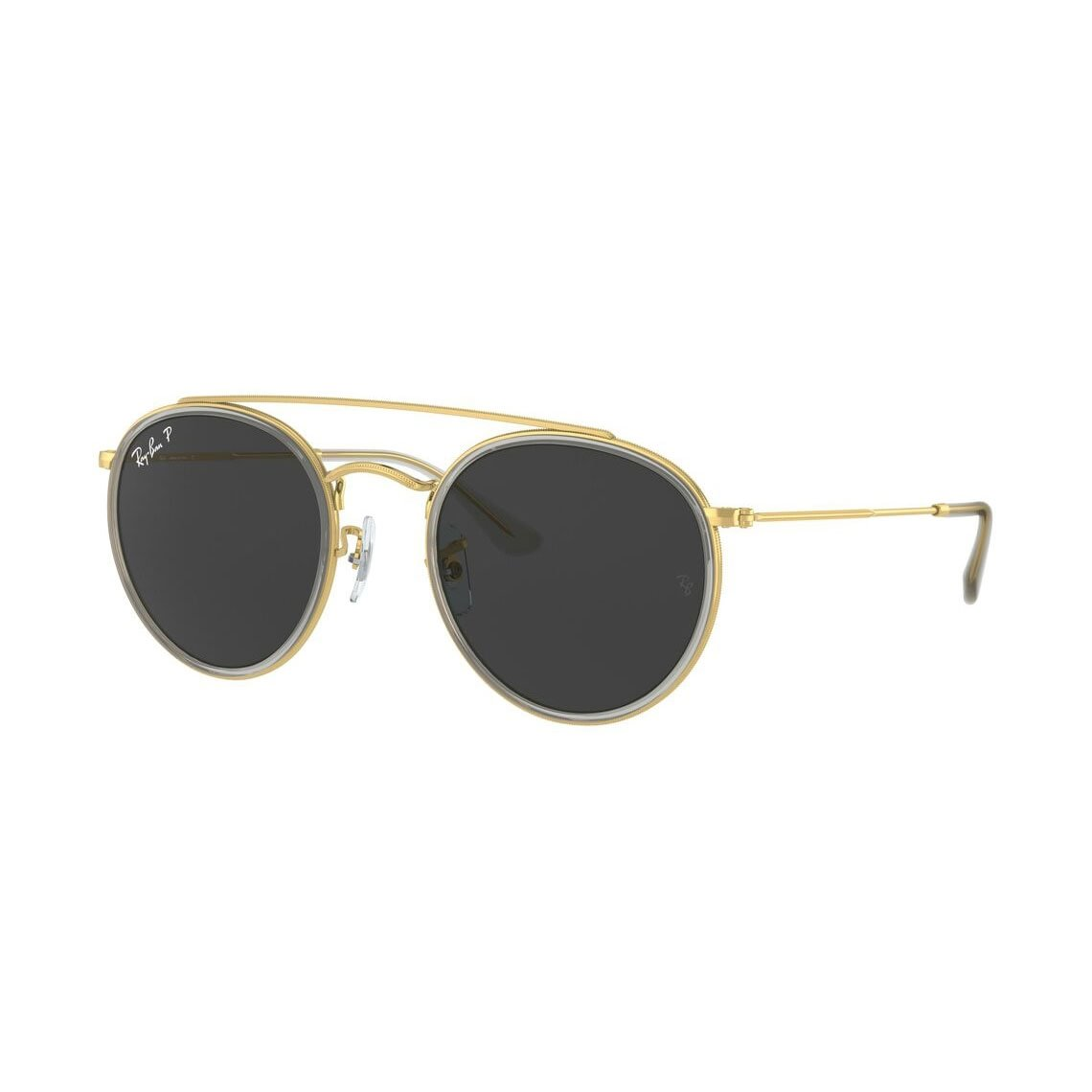 Ray-Ban Round Double Bridge Legend Gold RB3647N 921048 5122